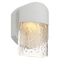 Access 20043S-LEDDMG-SAT/CLR Mist LED 5 inch Satin ADA Wall Sconce Wall Light