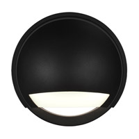 Access 20044LEDDMG-BL/OPL Avante LED Black Outdoor Wall Sconce