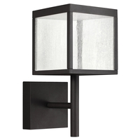 Access 20080LED-BL/SDG Reveal LED 15 inch Black Outdoor Wall Sconce