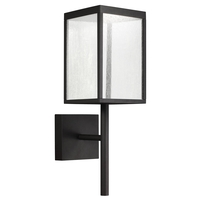 Access 20081LED-BL/SDG Reveal LED 22 inch Black Outdoor Wall Sconce
