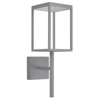 Access 20081LED-SG/CLR Reveal LED 22 inch Satin Gray Outdoor Wall Sconce