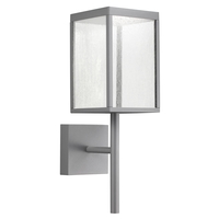 Access 20081LED-SG/SDG Reveal LED 22 inch Satin Gray Outdoor Wall Sconce