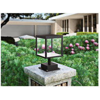 Access 20082LED-BL/CLR Reveal LED 13 inch Black Outdoor Pier Mount
