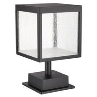 Reveal LED 13 inch Black Outdoor Pier Mount