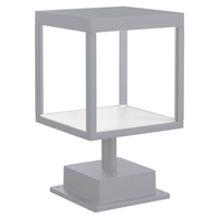 Access 20082LED-SG/CLR Reveal LED 13 inch Satin Gray Outdoor Pier Mount