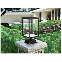 Access 20083LED-BL/CLR Reveal LED 15 inch Black Outdoor Pier Mount