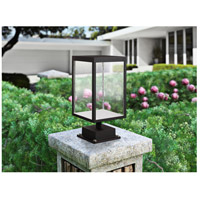 Access 20083LED-BL/SDG Reveal LED 15 inch Black Outdoor Pier Mount
