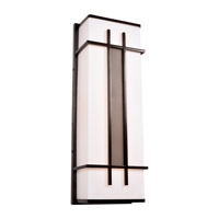 Access 20100LEDDMG-BRZ/ACR Tuxedo LED 9 inch Bronze Wall Sconce Wall Light