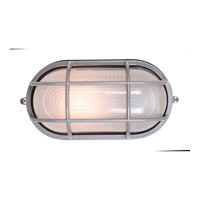 Access Lighting Nauticus 1 Light Bulkhead in Satin with Frosted Glass C20290SATFSTEN1113BS