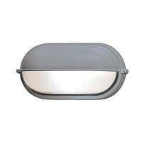 Access Lighting Nauticus 1 Light Bulkhead in Satin with Frosted Glass 20291-SAT/FST