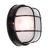 Access 20294-BL/FST Nauticus 1 Light 7 inch Black Outdoor Flush Mount alternative photo thumbnail