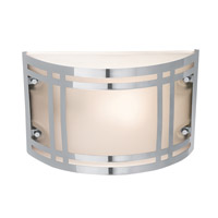 Access Lighting Poseidon 1 Light Bulkhead in Stainless Steel with Frosted Glass 20301LED-SS/FST