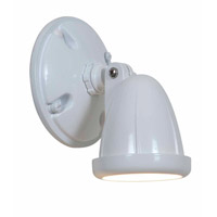 Access Lighting Ariel 1 Light Outdoor Spotlight in White 20309-WH/FST photo thumbnail