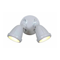 Access Lighting Ariel 2 Light Outdoor Spotlight in White 20311-WH/FST alternative photo thumbnail