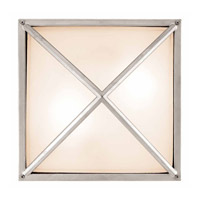 Access Lighting Oden 2 Light Outdoor Wall in Satin 20331-SAT/FST photo thumbnail