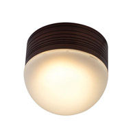 Access Lighting MicroMoon 1 Light Wet Location Ceiling or Wall Fixture in Bronze with Frosted Glass 20337MG-BRZ/FST