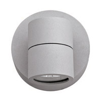 KO 1 Light 4 inch Satin Outdoor Wall in Incandescent