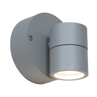 Access KO 1 Light Spotlight in Satin 20350LEDMG-SAT/CLR