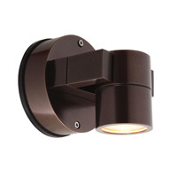 Access Lighting KO 1 Light Wet Location Spotlight in Bronze with Clear Glass 20351MGLED-BRZ/CLR