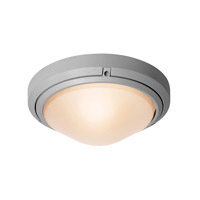 Access Lighting Oceanus 1 Light Wet Location Ceiling or Wall Fixture in Satin with Frosted Glass 20355MG-SAT/FST