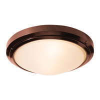 Access Lighting Oceanus 1 Light Flush Mount in Bronze 20356MGLED-BRZ/FST