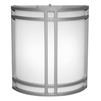 Access Lighting Artemis 2 Light Outdoor Wall in Satin with Opal Glass C20362SATOPLEN1218BS
