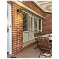 Poseidon 1 Light Bronze Outdoor Wall