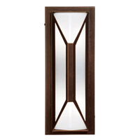 Access 20370MG-BRZ/FST Nyami 2 Light 16 inch Bronze Outdoor Wall in Incandescent