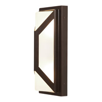 Access Lighting Nyami 2 Light Outdoor Wall in Bronze with Frosted Glass C20370MGBRZFSTEN1218BS