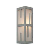 Access Lighting Zen 2 Light Outdoor Wall Light in Satin 20377MG-SAT/FST
