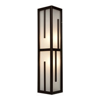 Access Lighting Zen 2 Light Outdoor Wall Light in Bronze 20378MG-BRZ/FST
