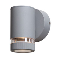 Access Lighting Poseidon 1 Light Outdoor Wall in Satin 20384MG-SAT/CLR