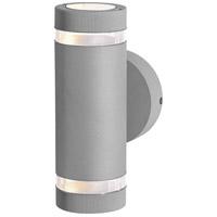 Access 20385LEDMGLP-SAT/CLR Poseidon 2 Light 9 inch Satin Outdoor Wallwasher