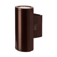 Access 20389LEDDMGLP-BRZ/CLR Trident 2 Light 14 inch Bronze Wallwasher