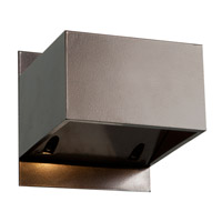 Access 20398LED-BRZ Square LED 3 inch Bronze Outdoor Wall Light  photo thumbnail