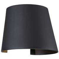 Access 20399LEDMGCNE-BL Cone LED 6 inch Black Wall Washer