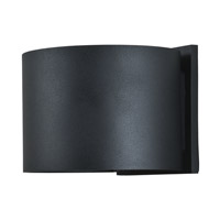 Access 20399LEDMGRND-BL Curve LED 4 inch Black Outdoor Wall Sconce alternative photo thumbnail