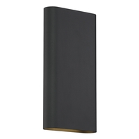 Access 20409LEDD-BL Lux LED 6 inch Black ADA Wall Sconce Wall Light