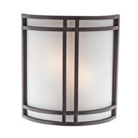 Access Lighting Artemis 2 Light Sconce in Oil Rubbed Bronze 20420-ORB/OPL photo thumbnail