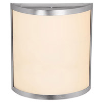 Access Lighting Artemis 2 Light Wall Sconce in Brushed Steel 20439LED-BS/OPL