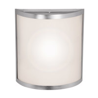 Artemis 2 Light Brushed Steel ADA Wall Sconce Wall Light