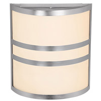 Access Lighting Artemis 2 Light Sconce in Brushed Steel 20440-BS/OPL