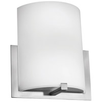 Access Lighting Cobalt 2 Light Wall Sconce in Brushed Steel with Opal Glass C20445BSOPLEN1218BS photo thumbnail