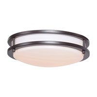 Solero LED 12 inch Bronze Flush Mount Ceiling Light