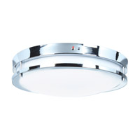 Access 20464LEDEM-BS/ACR Solero LED 12 inch Brushed Steel Flush Mount Ceiling Light