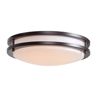 Solero LED 14 inch Bronze Flush Mount Ceiling Light