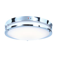 Access 20466LEDEM-CH/ACR Solero LED 18 inch Chrome Flush Mount Ceiling Light