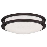 Access 20470LEDD-BRZ/SACR Sparc LED 12 inch Bronze Flush Mount Ceiling Light