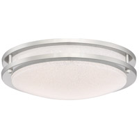Access 20471LEDD-BS/SACR Sparc LED 14 inch Brushed Steel Flush Mount Ceiling Light