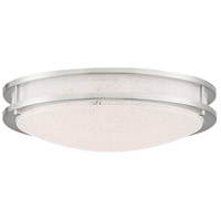 Access 20472LEDD-BS/SACR Sparc LED 16 inch Brushed Steel Flush Mount Ceiling Light